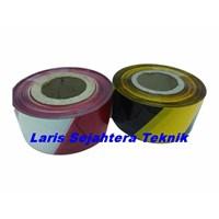 Barikade Tape Kuning Hitam Alat Safety lainnya