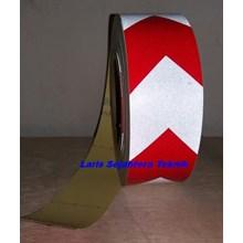Scotchlite Reflective Tape Merah Putih Type Panah
