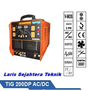 Mesin Las Jasic TIG-200DP AC-DC