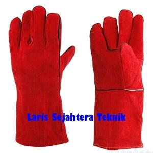 Sarung Tangan Las Merah Harga Murah