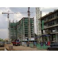 kasa hijau pengaman gedung