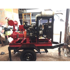 Pompa Air Ebara 100X80 Fsha - 18.5 Kw - 3000 Rpm (Ebara Transfer Pump)