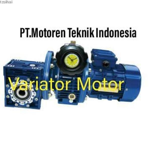 Worm Geared  Variator Motor