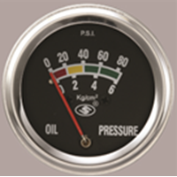 Oil Pressure Gauge (Mechanical)