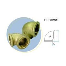 Fitting elbow