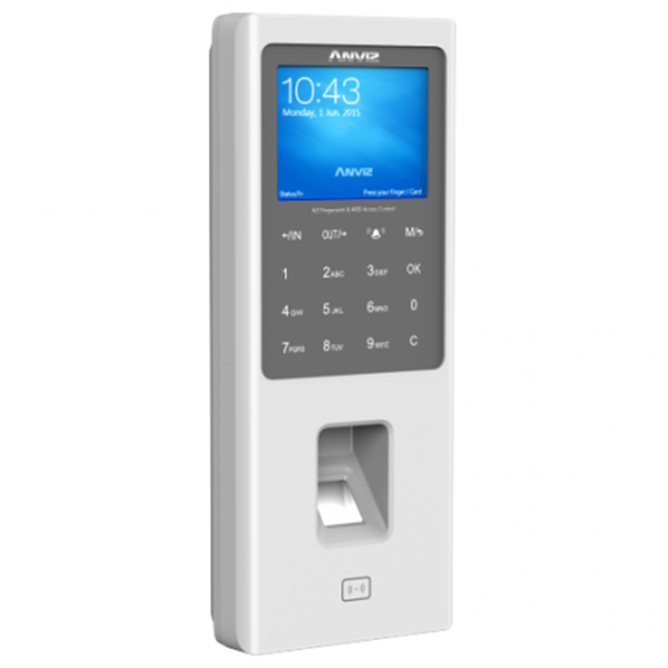 W2  Color Screen Fingerprint & RFID Access Control with Battery