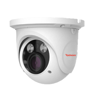 PVD-5325F 5MP Vandal Dome H.265 IP Cam, 20-30m IR, Zoom 3.3-12mm