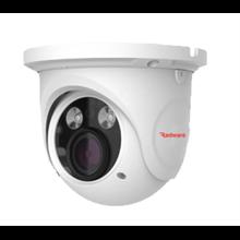 PVD-5325F 5MP Vandal Dome H.265 IP Cam, 20-30m IR,