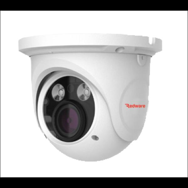 PVD-5325F 5MP Vandal Dome H.265 IP Cam, 20-30m IR, Zoom 3.3-12mm