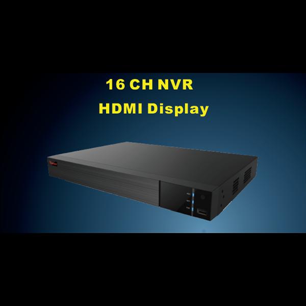 PVZ-2325 16 CH NVR HDMI Display