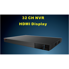 PVZ-2525 32 CH NVR HDMI Display