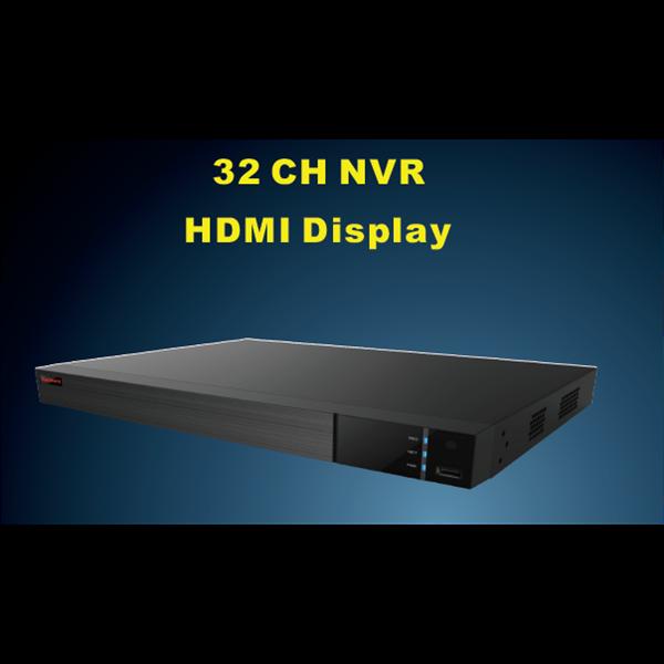 PVZ-2525 32 CH NVR HDMI Display