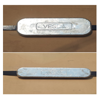 Jual Sacrifical Anode Vesca - Aluminium