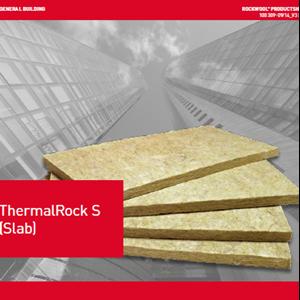Rockwool ThermalRock Slab S100kg/m3 50mm 600x1200mm