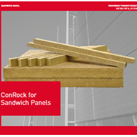 Rockwool ConRock for Sandwich Panels S series density 100 50x600x1200