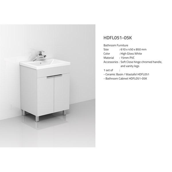 Wastafel Kabinet HDFL051-05K
