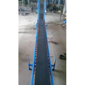 Belt Dan Conveyor Incline Lifter Portabel Belt Conveyor
