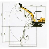Jual Mini Excavator JH-22