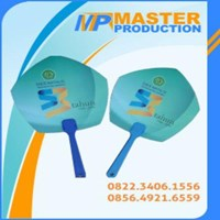 Souvenir kipas pvc murah By Master Production Surabaya
