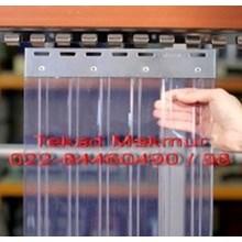 Tirai Plastik PVC Curtain-Clear (Set 1x2)