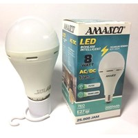 Lampu LED Emergency AMASCO 8 Watt