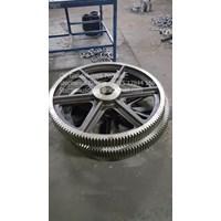 Jual Pembuatan Roda Gigi Miring(Helcial Gear) 2