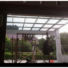 Tempered Glass Canopy 1