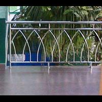 Jual  Railing Balkon stainless Kepala Kubah