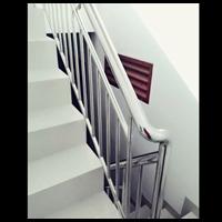 Jual Railing Tangga stainless minimalis pipa 2