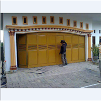 Jual Pintu Garasi Besi Galvalum