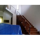 Railing tangga tiang tk kayu 2