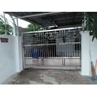 Pintu garasi pagar minimalis 2