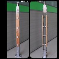 Pole railing stair