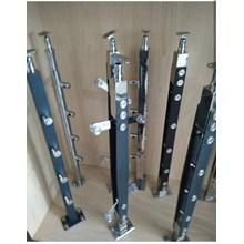 Pole railing stair iron