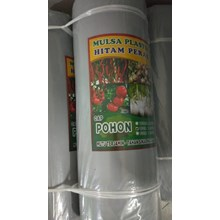 Mulsa Plastik Hitam Perak Cap Pohon 1