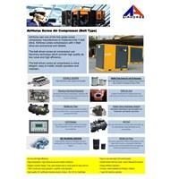 Jual Jal Kompresor Angin Screw air compressor Airhorse 15 HP   2