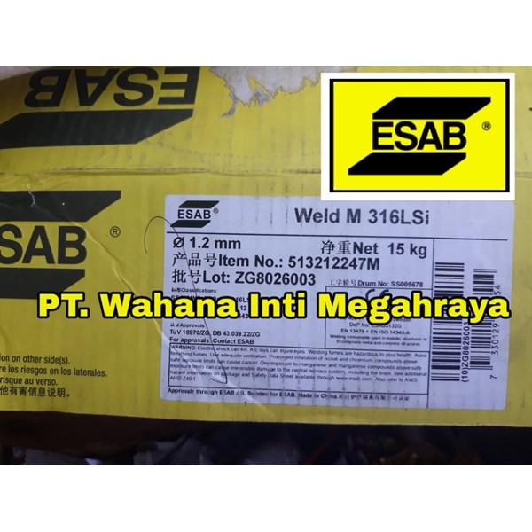 Kawat Las MIG ESAB 316LSi