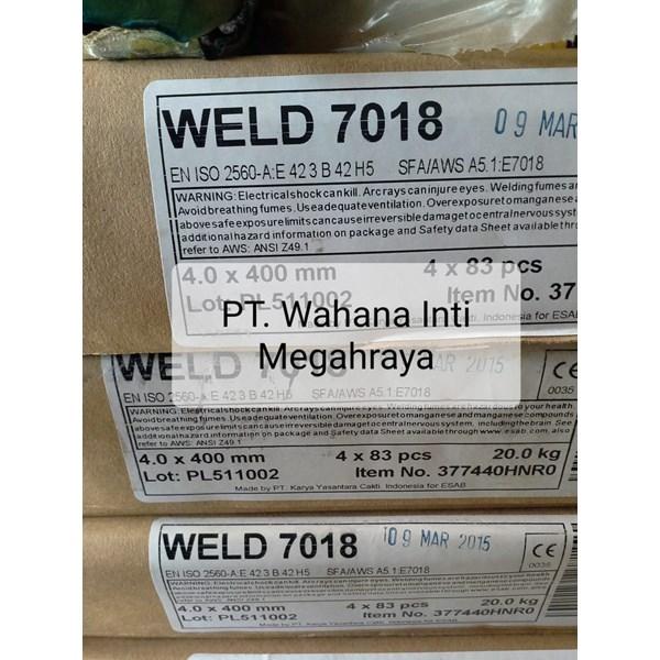 Kawat Las Weld 7018 ESAB