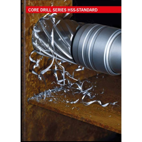Mata bor HSS Core Drill ukuran 12 sd 130 mm Depth 30 mm 55 mm 110 mm