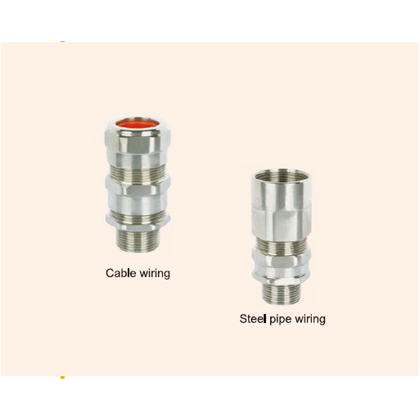 DQM-II Armored Dual Seal Series Explosion-proof Cable Glands