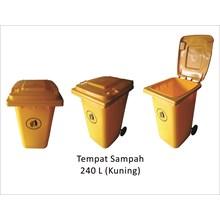 Tempat Sampah  240L China Warna Kuning