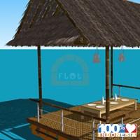Jual Gazebo Flot Indonesia Gazebo Apung / Restoran Apung 2