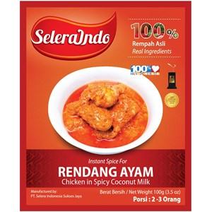 Seasoning Chicken Rendang