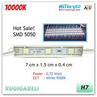 Rugigabeli Lampu LED Module 3 Mata SMD 5050 (1 Pack 20 Pcs) 1