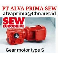 SEW HELICAL BEVEL PT ALVA PRIMA GLODOK Sew Gear Motor Seri F 1