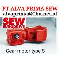 MADE IN GERMANY SEW GEAR MOTOR K PT ALVA PRIMA SEW GEAR MOTOR