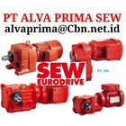 INVERTER  ELECTRIC MOTOR SEW EURO DRIVE  Gear Motor Seri K PT ALVA PRIMA SEW GLODOK 2