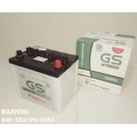 Aki Mobil Gs Hybrid 55D23l 1
