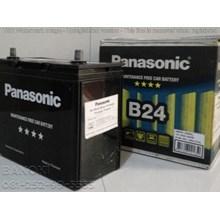 Aki Mobil Panasonic Ns60l Maintenence Free