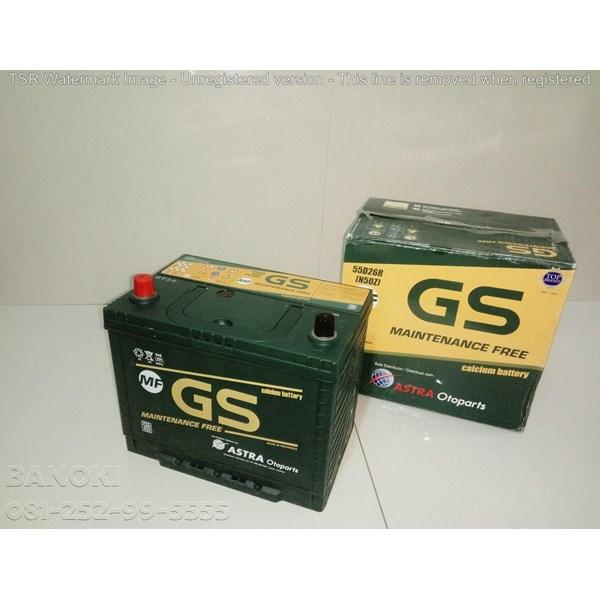 Aki Mobil Gs Astra Maintenence Free N50z